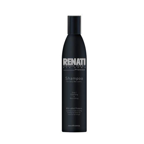 Pre wax shampoo product